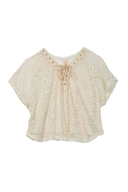 Truluv Vining Lace Top - Front cropped