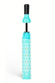 Vinrella Vintage Turquoise Umbrella - Front full body