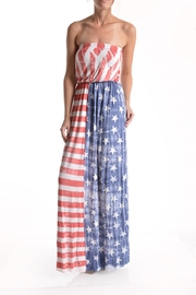 T-Party Fashion Vintage American Flag - Product Mini Image
