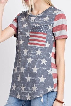 12pm by Mon Ami Vintage Americana Top - Product List Image