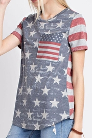 12pm by Mon Ami Vintage Americana Top - Product Mini Image