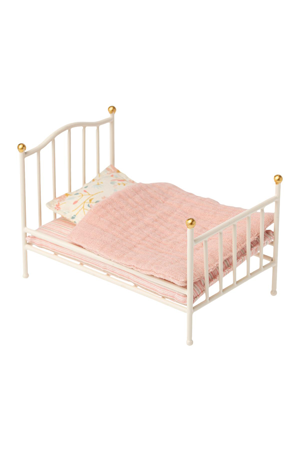 Maileg Vintage Bed, Mouse - Front Cropped Image