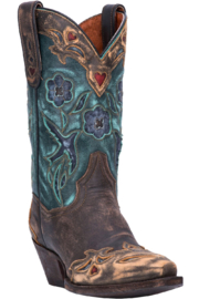Dan Post Boot Company Vintage Bluebird Boots - Front cropped
