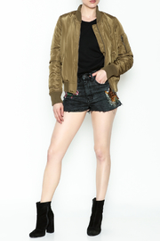 Vintage Brand Bomber Jacket - Side cropped