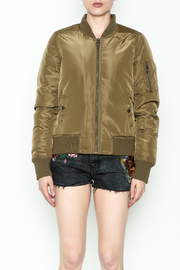 Vintage Brand Bomber Jacket - Front full body