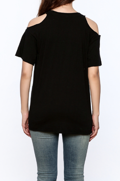 Vintage Brand Cold Shoulder Rock Tee - Alternate List Image