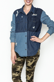 Vintage Brand Denim Work Shirt - Product Mini Image