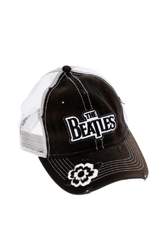Vintage Brand Destroyed Trucker Hat - Alternate List Image