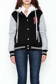 Vintage Brand Old School Varsity Jacket - Front full body