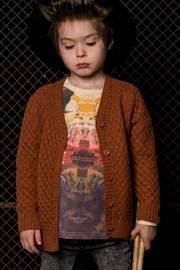 Rock Your Baby Vintage Brown Cardigan - Front full body