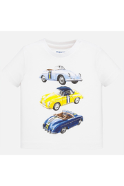 Mayoral Vintage Car Baby Shirt - Front cropped