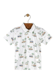Up Baby Vintage Car Palm Polo - Product Mini Image
