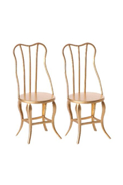 Maileg Vintage Chair Micro Gold - Product Mini Image