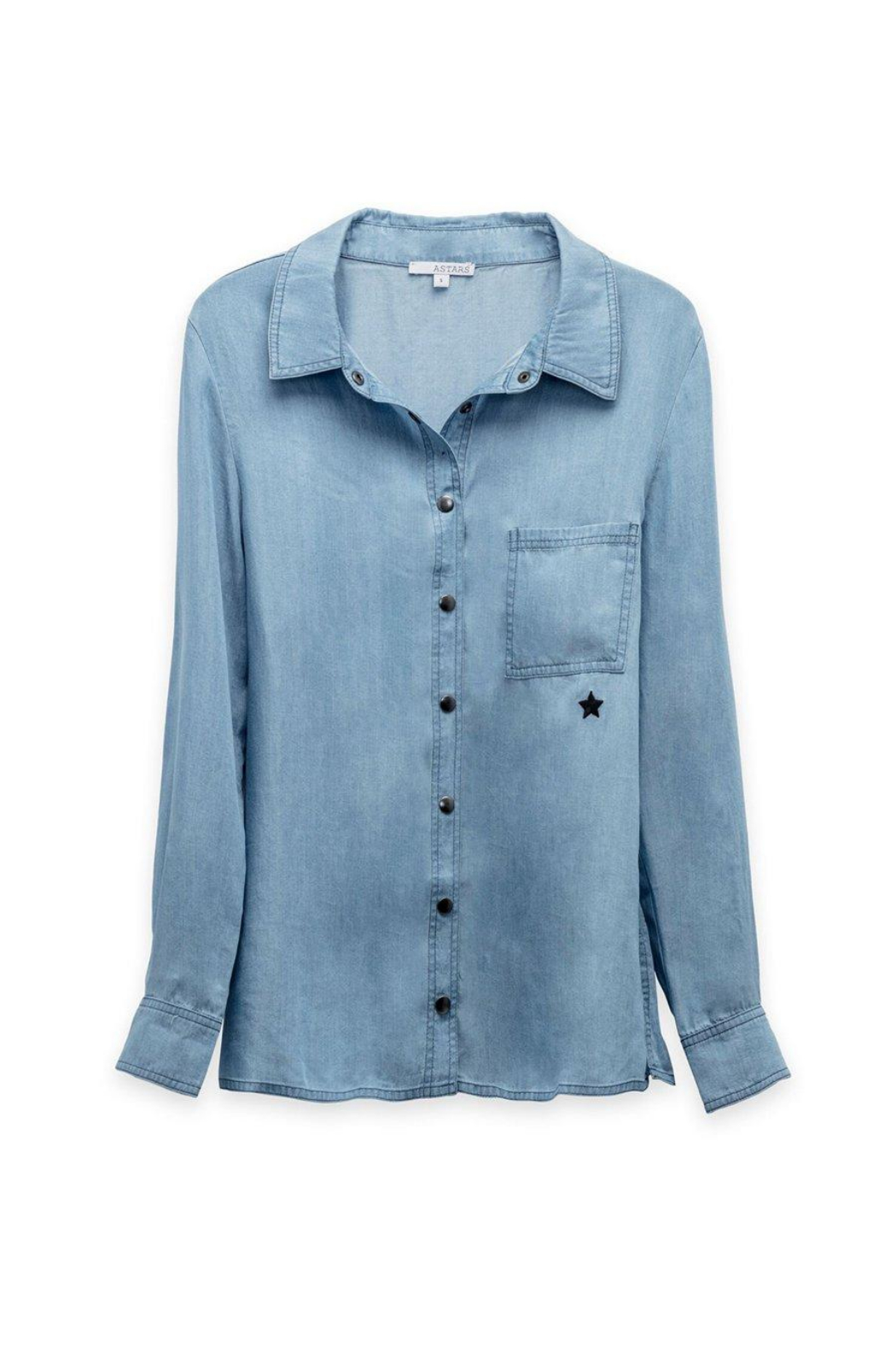 Astars Vintage Chambray Star Top - Side Cropped Image
