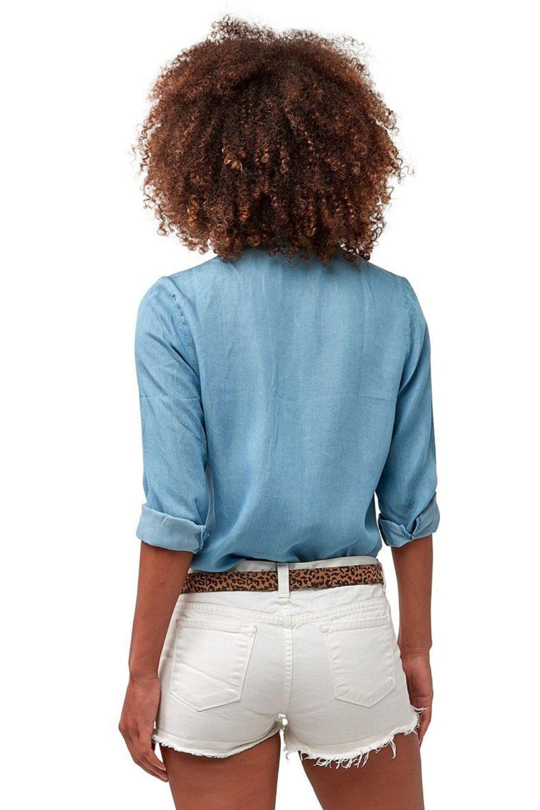 Astars Vintage Chambray Star Top - Front Full Image