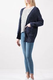Look by M Vintage Color Cardigan - Front cropped