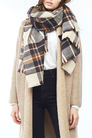 Look by M Vintage color plaid scarf - Product Mini Image