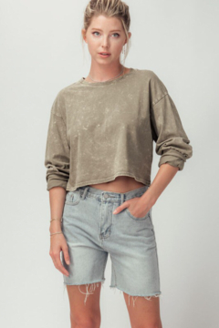 Trend Notes  Vintage Cut Off Shorts - Product List Image