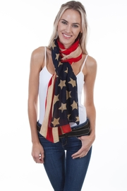 Scully Vintage Flag Scarf - Product Mini Image