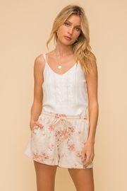 Hem and Thread Vintage Floral Print Shorts - Product Mini Image