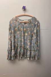 easel  Vintage floral top - Product Mini Image