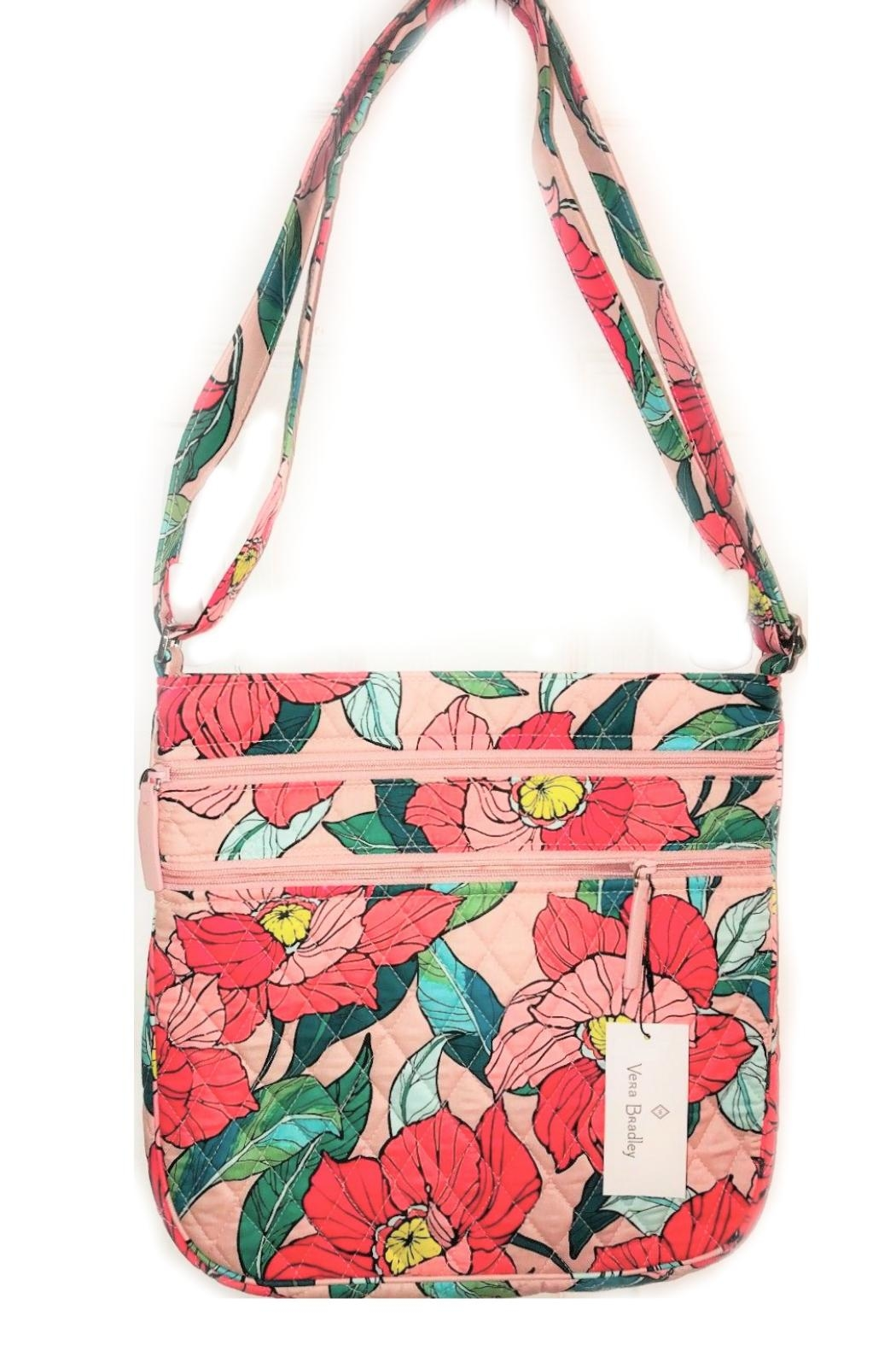 Vera Bradley Vintage Floral Triple-Zip from Kentucky by Mimi s Gift ... 79d8c107a4