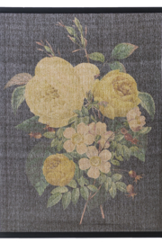 Ganz Vintage Floral Wall Hanging - Product Mini Image