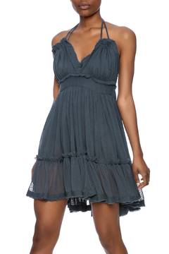 Shoptiques Product: Crinkle Strappy Dress