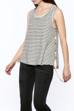 Shoptiques Product: Laced Up Side Top