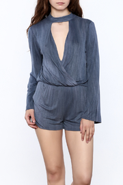 Vintage Havana Long Sleeve Romper - Product Mini Image