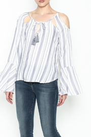 Vintage Havana Mykonos Stripe Top - Product Mini Image