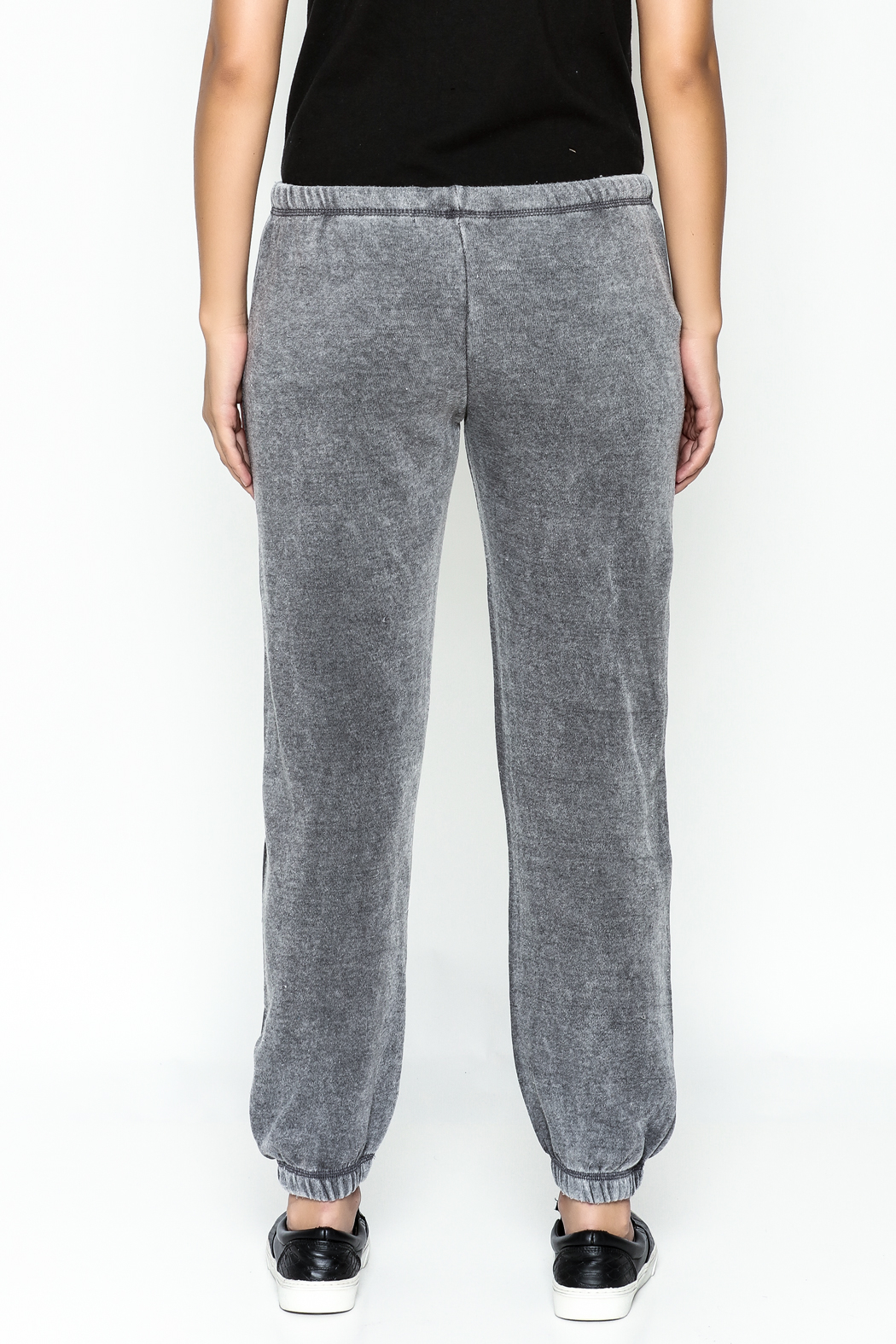 Vintage Havana Ripped Sweatpant - Back Cropped Image
