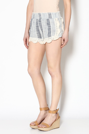 Vintage Havana Blue Woven Shorts - Product Mini Image