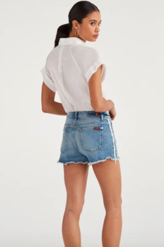 7 For all Mankind Vintage HW Denim Shorts - Alternate List Image