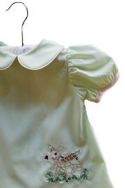 La Jenns Vintage-Inspired-Baby-Deer-Embroidery Dress - Front full body