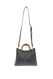 Joy Susan Accessories Vintage Inspired Satchel - Back cropped