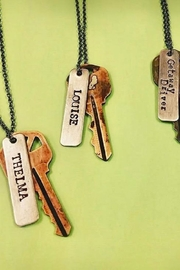 Buffalo Girls Salvage Vintage Key Necklaces - Product Mini Image