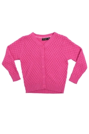 Rock Your Baby Vintage Knit Cardigan - Front cropped