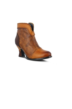 Spring Footwear Vintage Leather Bootie - Product List Image