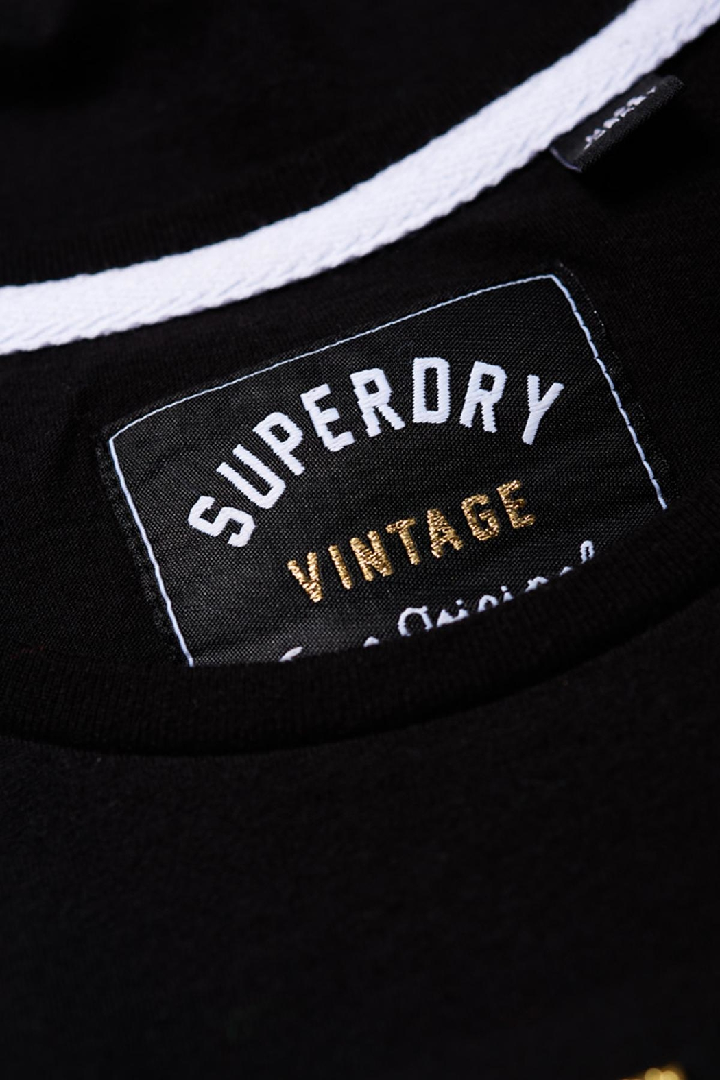 Superdry Vintage Logo T-Shirt - Back Cropped Image