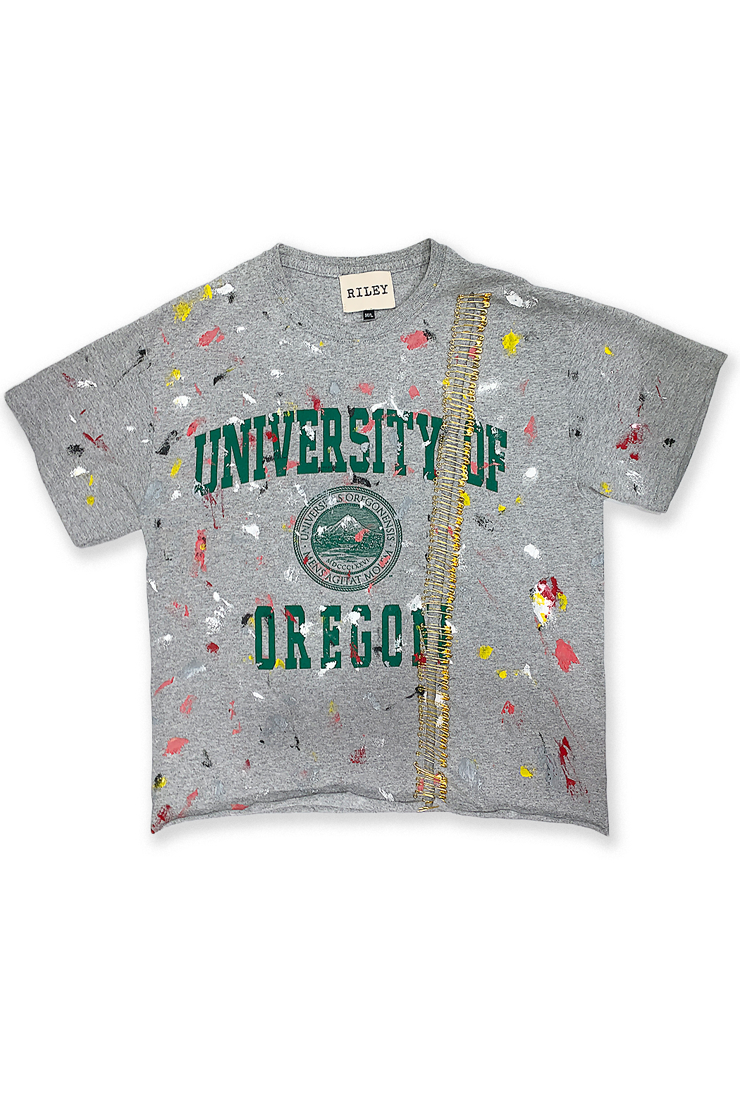 Riley  Vintage Oregon Collegiate Tee - Main Image