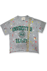 Riley  Vintage Oregon Collegiate Tee - Front cropped
