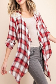 KORI AMERICA Vintage Plaid Jacket - Product Mini Image