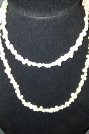 no brand Vintage Shell Necklace From The Phillipines - Side cropped