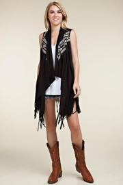 Vocal Vintage Skull Vest - Product Mini Image