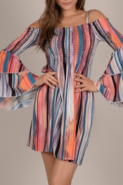 Molly Bracken Vintage Stripe Dress - Product Mini Image