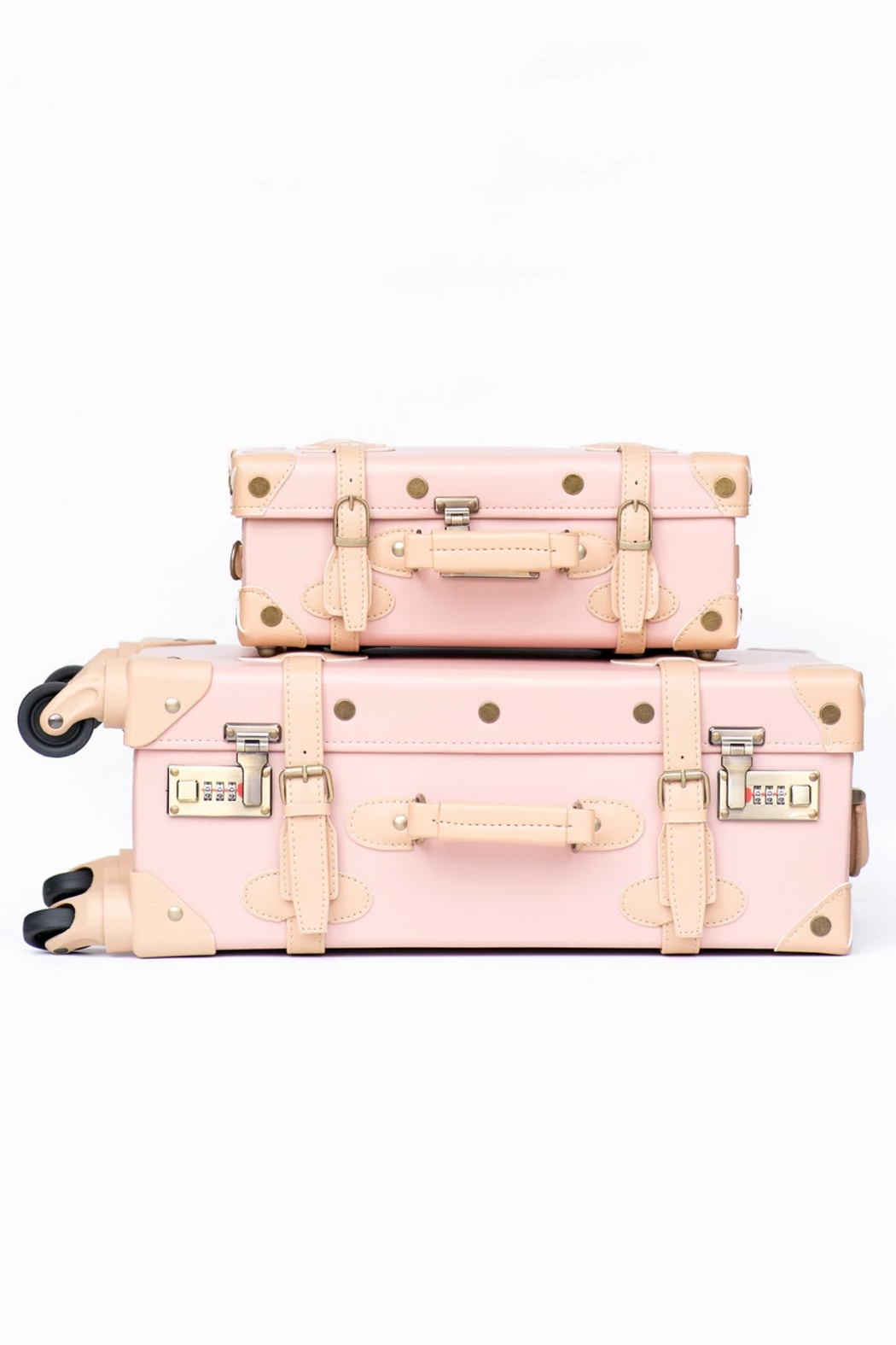 Deux Peches Vintage Style Carry-On - Front Full Image