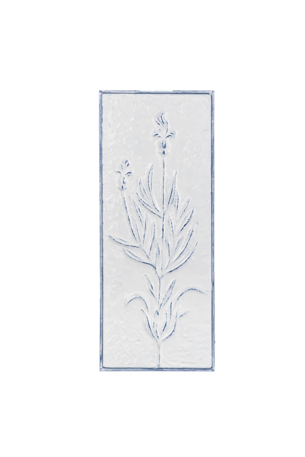 Ganz Vintage Style Embossed Floral Wall Decor - Front Cropped Image