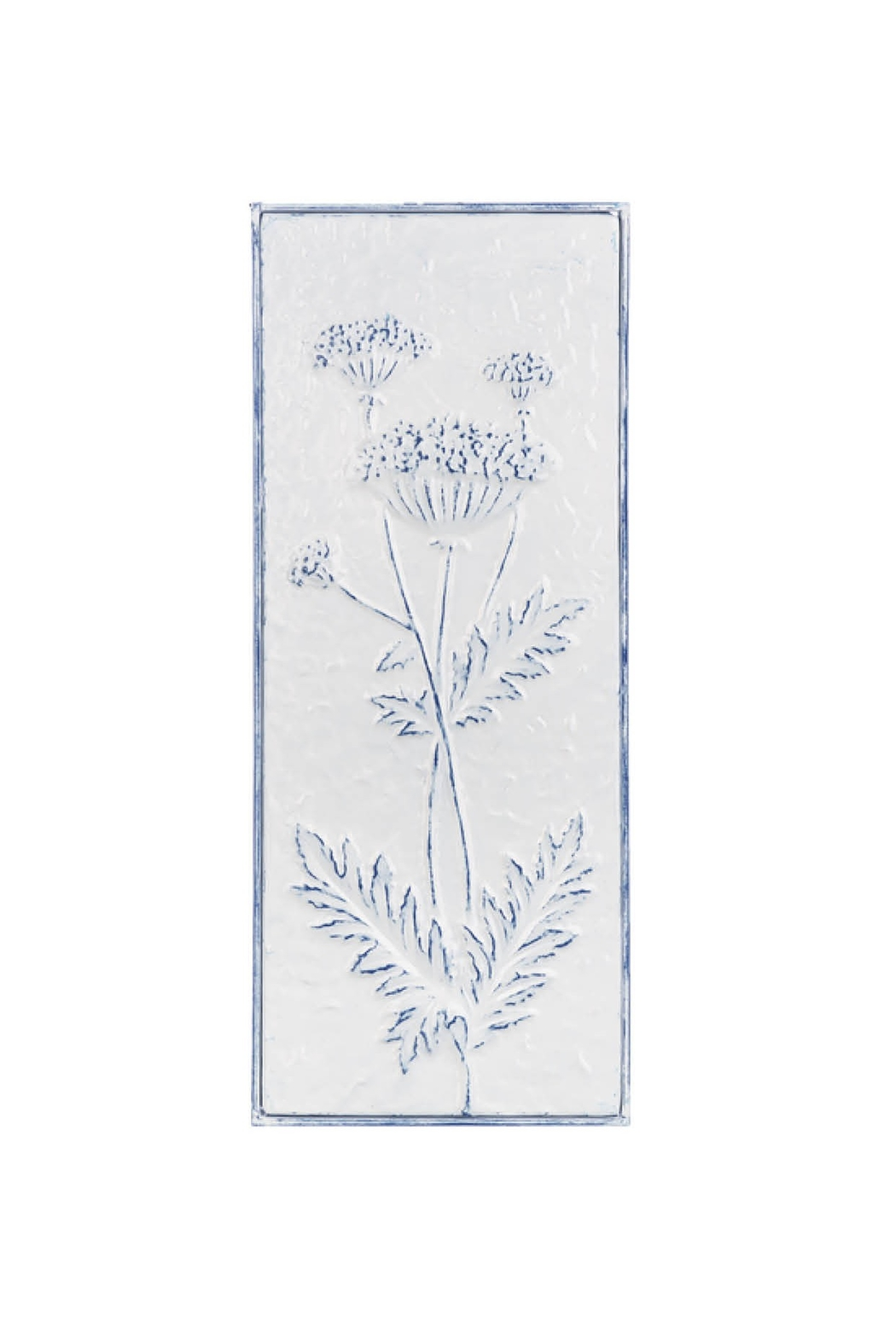 Ganz Vintage Style Embossed Floral Wall Decor - Main Image