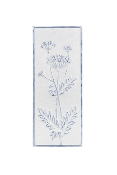 Ganz Vintage Style Embossed Floral Wall Decor - Product List Image